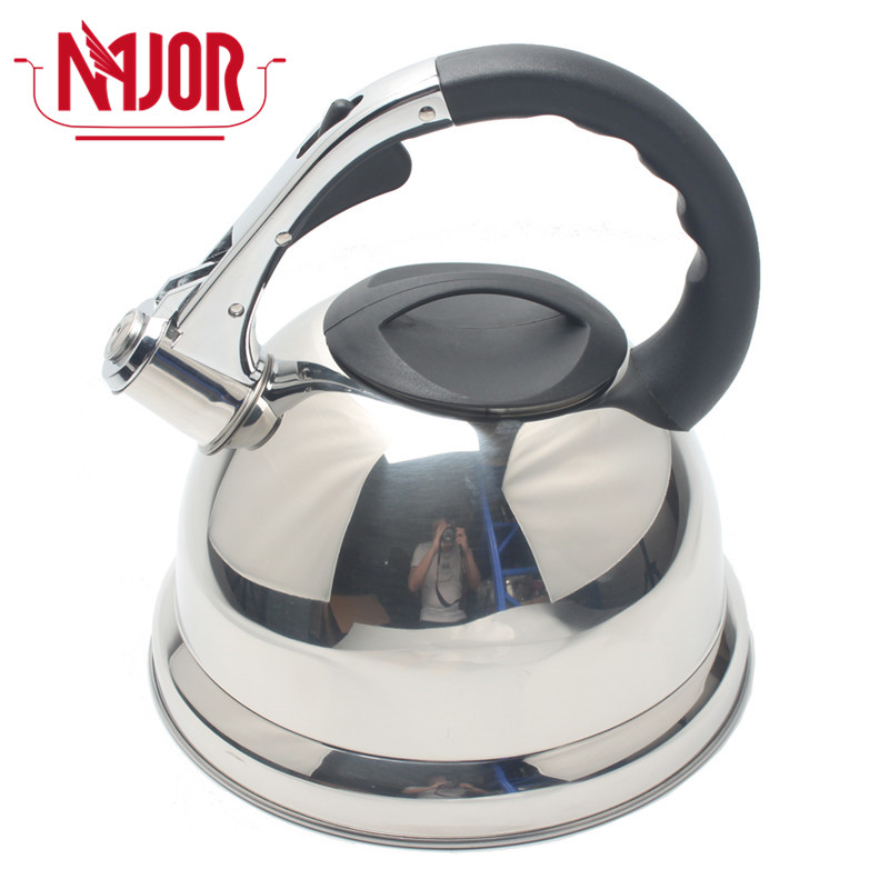3.5L Fashion Design Stainless Steel Stovetop Whistle Water Tea Kettle