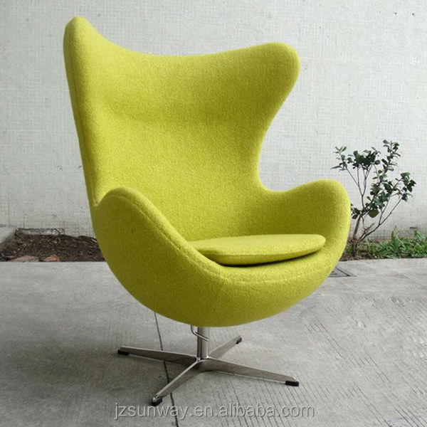 egg folding chair for home furniture with any color available
