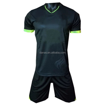 2016 2017 Sports Wear Black Away Best Thai Quality Soccer Jersey Free Shipping To Lisbon