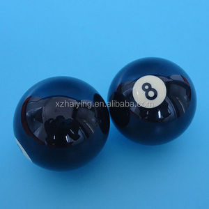57mm magic black 8 solid Balls