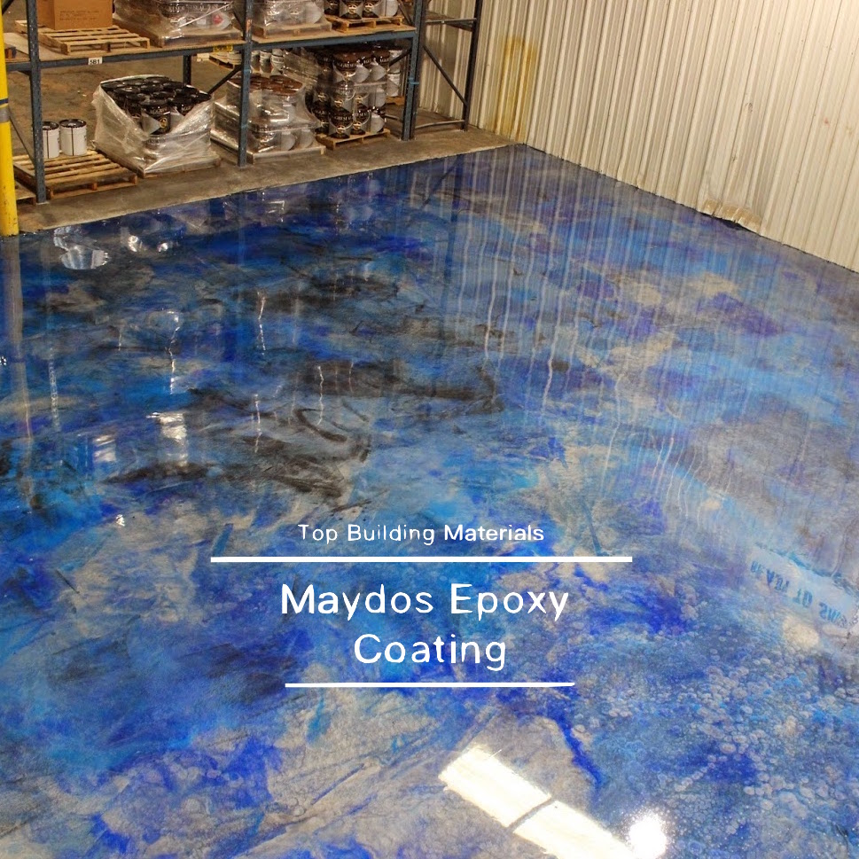 Maydos Clear hard floor epoxy resin metalic flooring