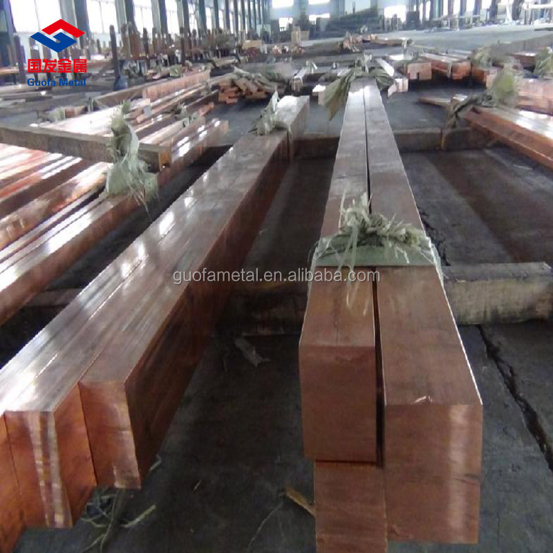 99.9% Pure Copper Busbar 2mm 3mm C1020 C1100 C1221 Copper Flat Bar
