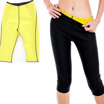 3034e2c6f4 Hot Body Shaper Neoprene Sauna Shapers Sweat Women pants Slim Fitness Super  Stretch Panties waist trainer