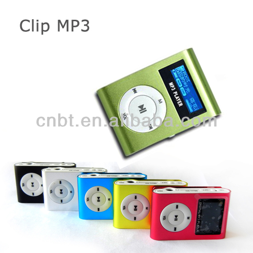 Top mini business card mp3 player with good quality
