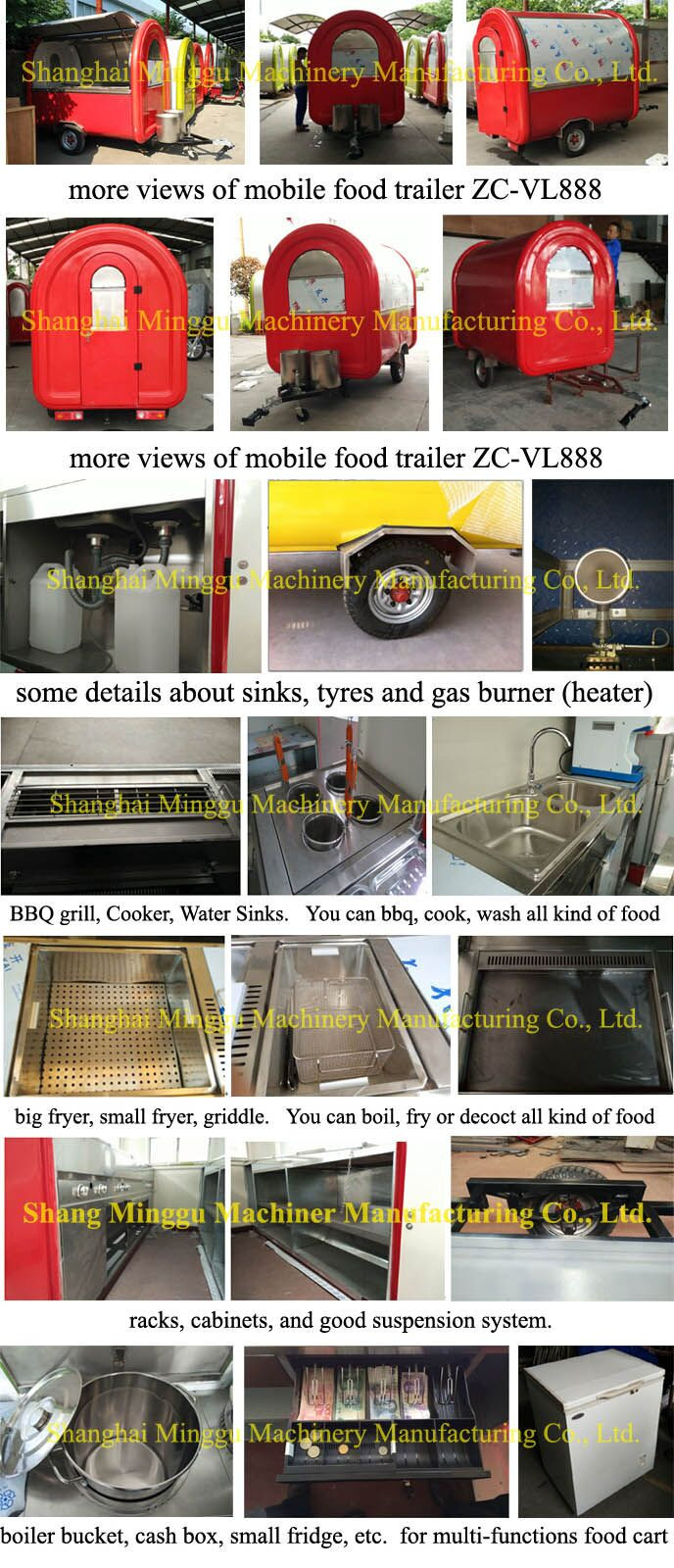 Mobile Food Sale Trailer Apple Juice Machie Mobile Snack Cart Used Mobile  Kitchens Thailand Fry Ice