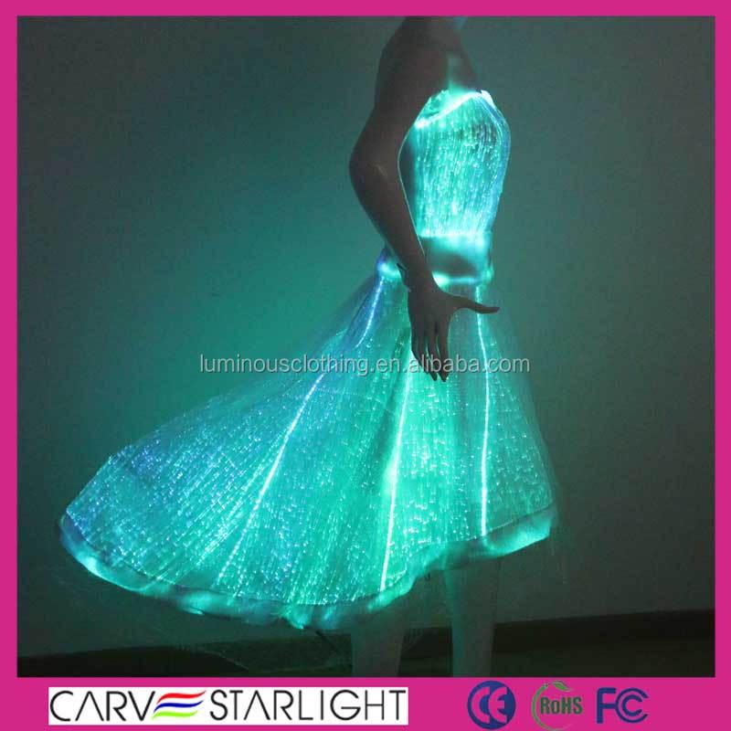 Luminous Party Dress Light Up Illuminated Dance Plus Size Prom Dresses Product On Alibaba