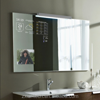 Wifi Touch Screen Magic Smart Mirror With Android Bathroom