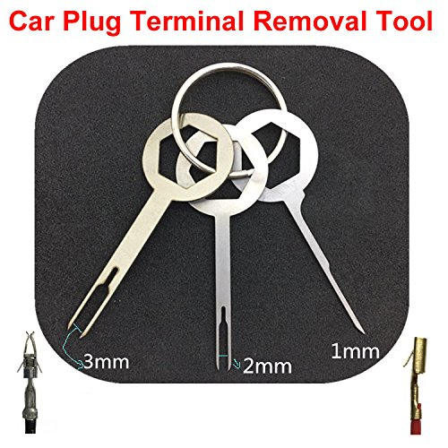 11Pcs/Set Terminal Removal Tools Car Electrical Cable Wiring Crimp Connector Pin Extractor Kit Car Repair Hand Tool Set Plug key Smart Pin Back Removal Tool by ePacket