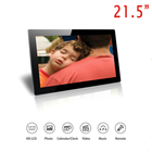 "Factory wholesale digital photo frame / CE ROHS LCD hd video led screen 21"" acrylic digital picture frame advertisement loop"
