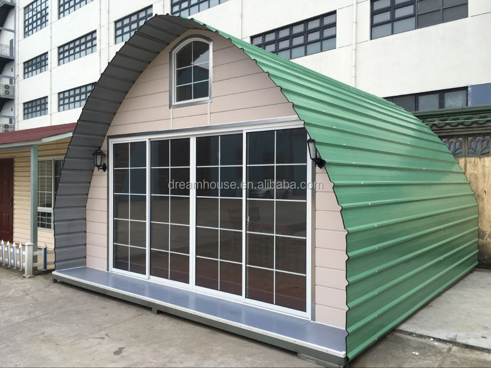 European prefab dome homes modular prefabricated homes for Metal cabin kits