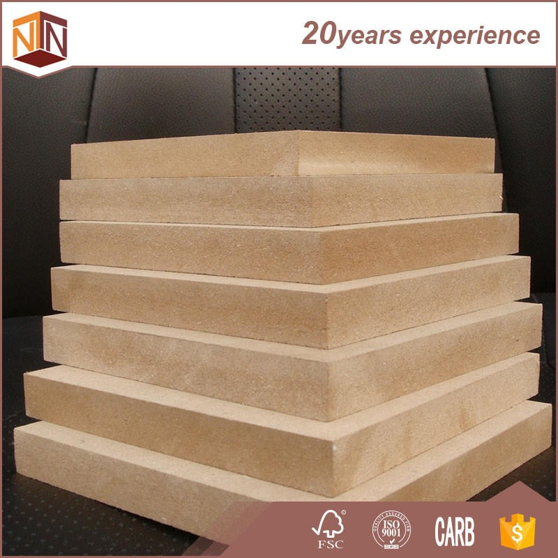 Wholesale Plain MDF Board 18MM Thickness from large mdf factory in China