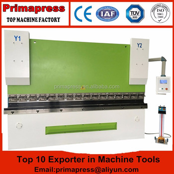 Delem 41 CNC hydraulic press brake 100ton, used steel bending machine for sale