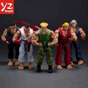 High Quality Custom Make Neca Street Fighter White PVC Toy Action Figure for Collectable