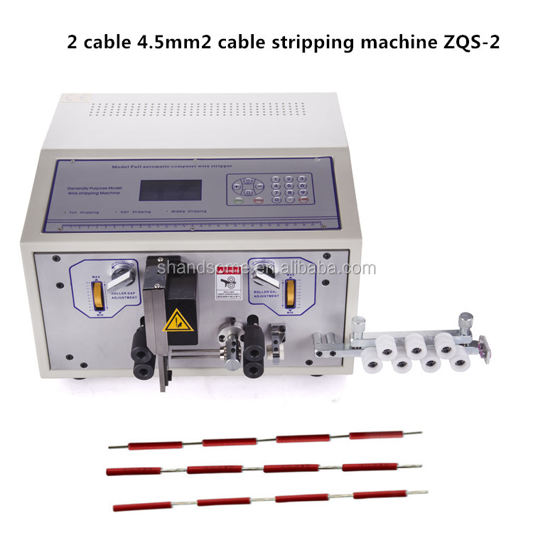 2017 Automatic Double Wire 2 Cables Stripping Cutting