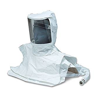 Allegro Industries 9911-10 Replacement Double Bib Maintenance Free Tyvek Hood CF SAR (Low and High Pressure), Standard