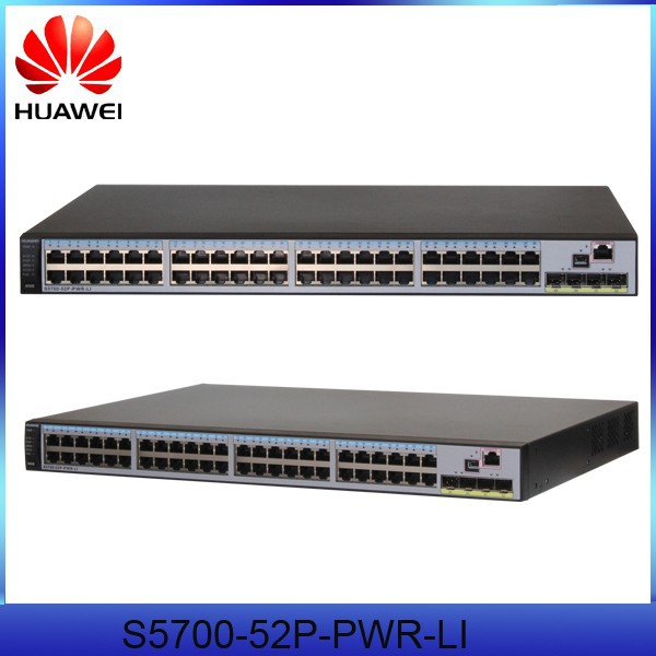 Huawei S5700-52P-PWR-LI-AC 48 Ethernet 10/100/1000 PoE+ ports Network Switch