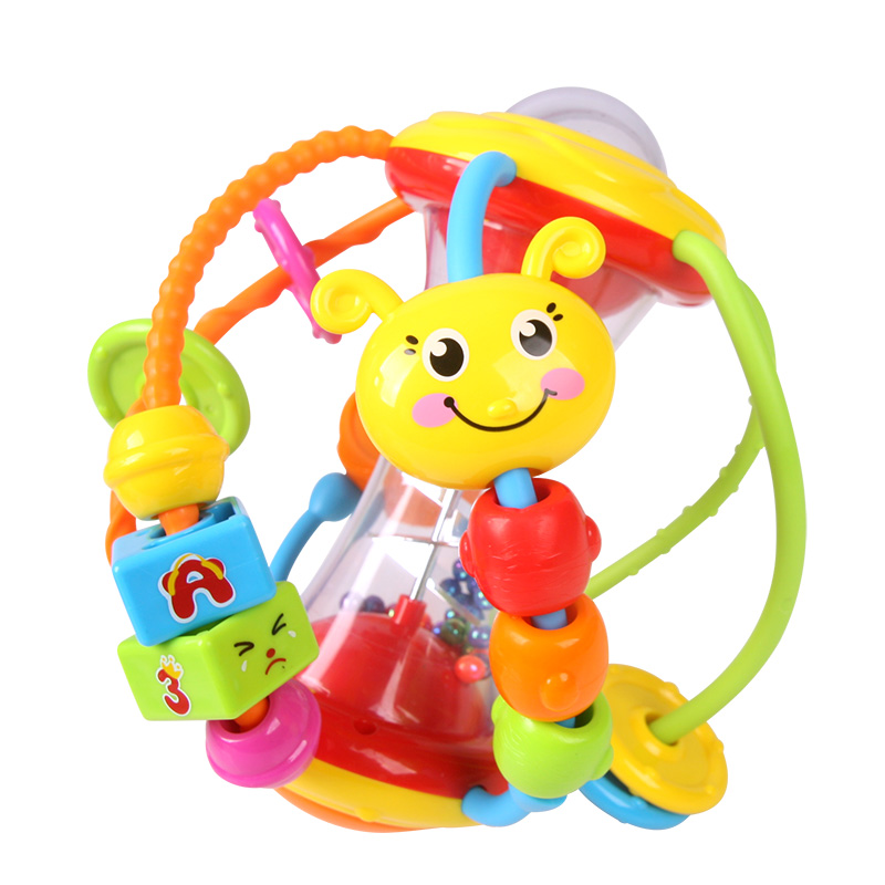 Colorful Baby Toys Ball Baby Rattles Educational Toys for Babies Grasping Ball Puzzle Multifunction Bell Ball 0-18 Months Brand