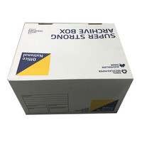 Strong quality paper package box with logo for office A4 paper