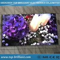 Shenzhen full color tv panel P2 P3 P4 P5 P6 led video wall indoor led display screen