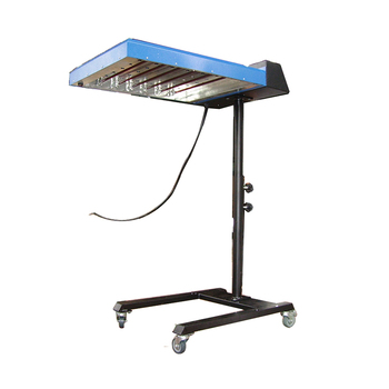 Professional manufacturer adjustable stand automatic infrared flash dryer screen printing for t-shirt cloth baking