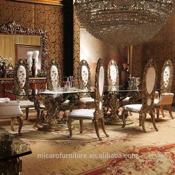 Palazzo E Reale Design Italiano Stile Barocco Ovale Tavolo ...