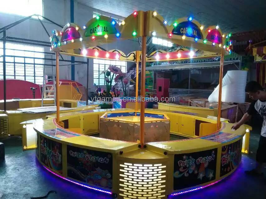 2015 NEW ARRIVAL!!! ringing bottle carnival game indoor or outdoor booths amusement park for hot sale