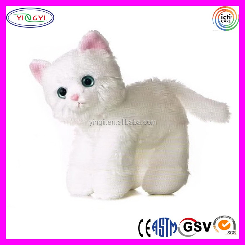 A031 Soft Floppy Gato Animal Juguete Relleno Felpa Del Gato Patrón ...
