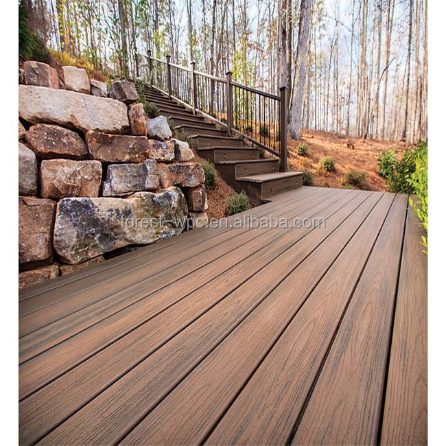 Jard n al aire libre decking compuesto de madera for Jardin al aire libre de madera deco