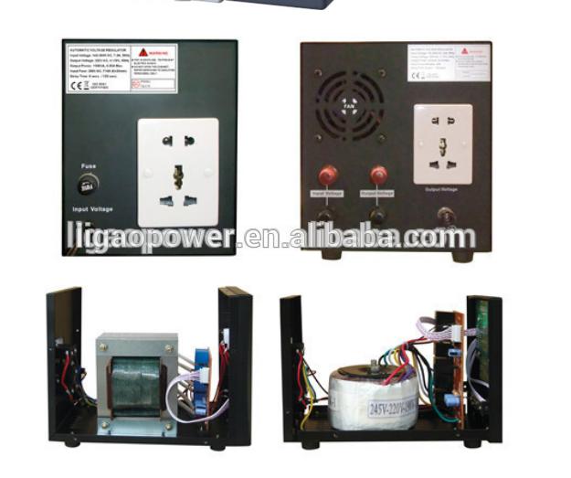 Nearly 100% Efficiency 1500w 120v-260v Ac Automatic Voltage ...