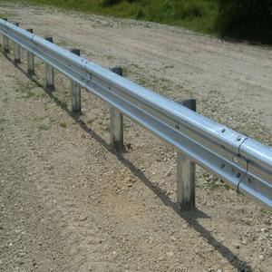 highway guardrail safety roller barrier