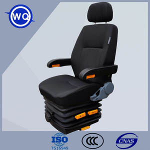 China Factory PVC Adjustable Crane Seat with Rail
