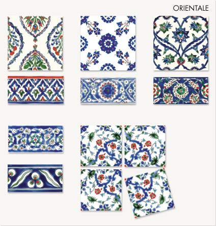 11750140 - Mattonelle in ceramica decorate ...