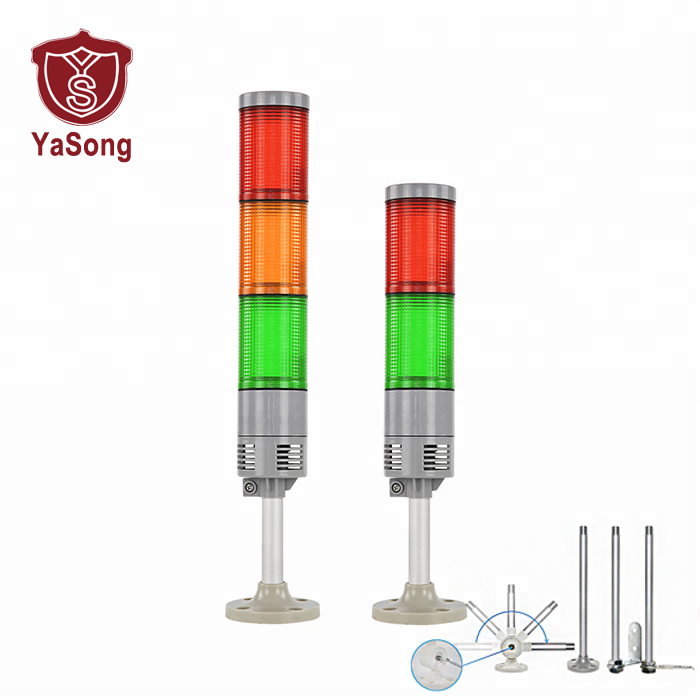 LTA-505AJ-1High brightness led warning signal light tower for Warehouse