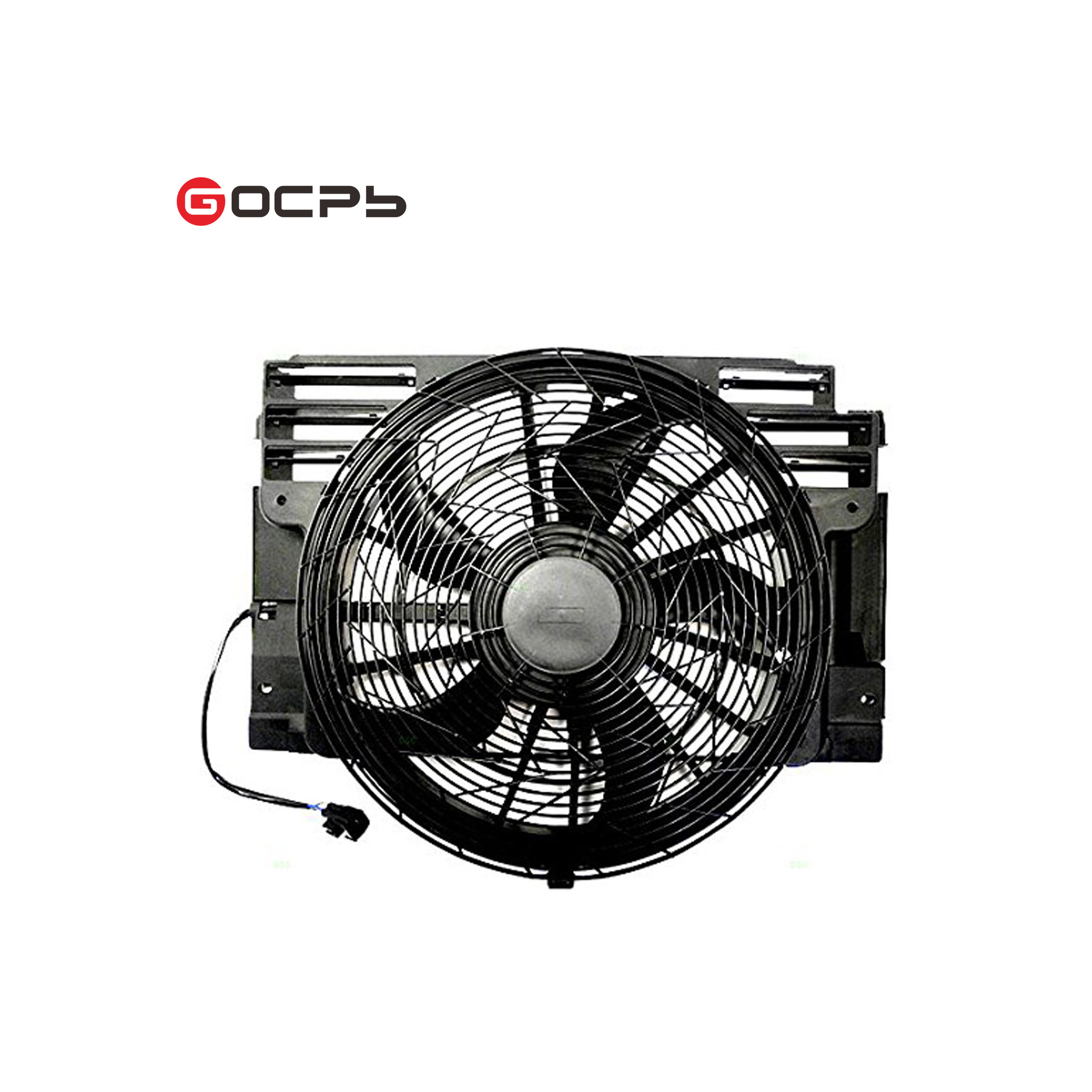 New A//C AC Blade Radiator Condenser Cooling Fan fit 00-06 BMW X5 E53 64546921381