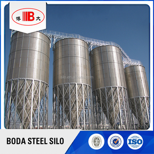 200 ton cement stainless steel grain silo for sale