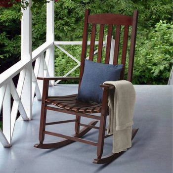 Outdoor Furniture Factory Directly Make Wooden Rocking Chair For Elderly