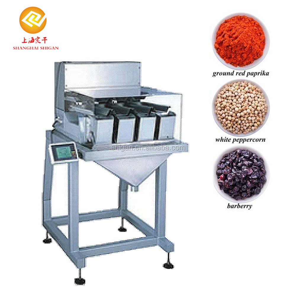 NEW Released Optional blanking model automatic powder packing machine linear scale