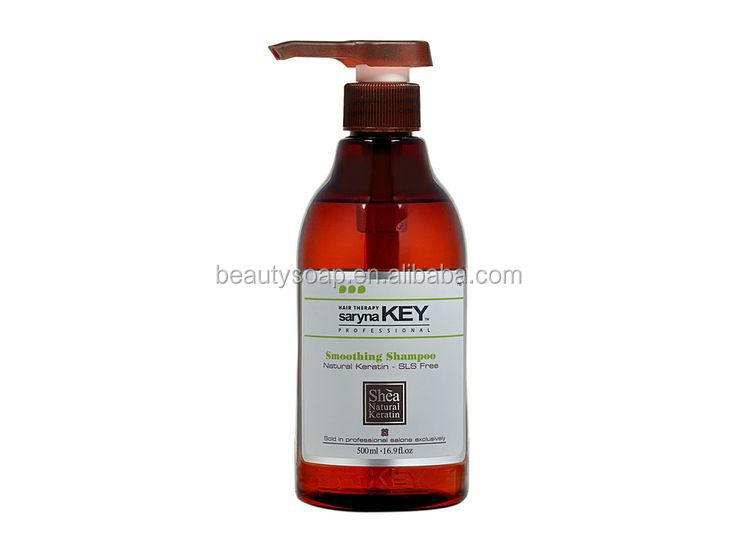 Smoothing Shampoo with Natural Keratin without SLS