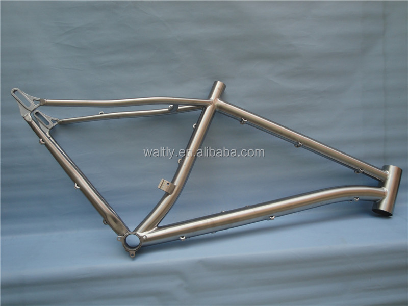 "Custom-made 24"" titanium mountain bike frame on sale"