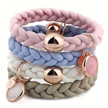 5fd56018e5e2 latest nuevo producto de cuero rosa de la mquina para hacer pulseras with  como hacer pulsera cuero