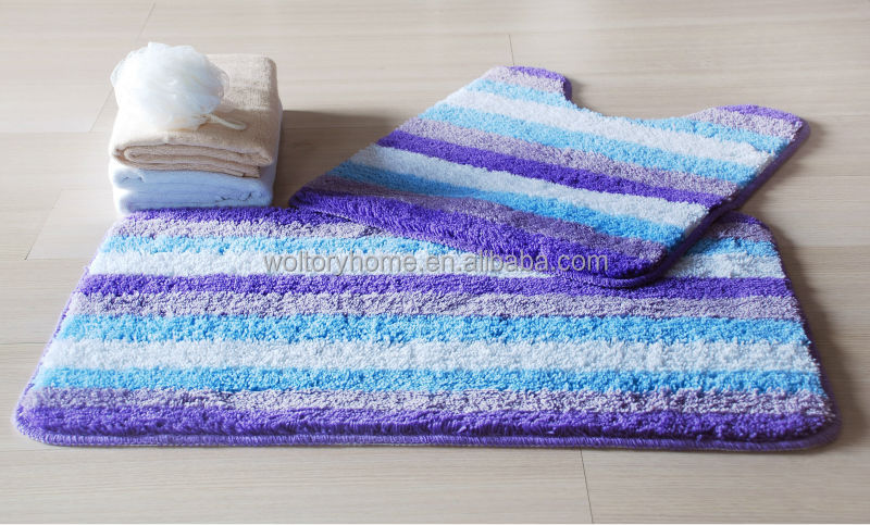 hot sale bathroom set shower curtain and matching pp bath accessoriesbath mat set - Bathroom Set For Sale