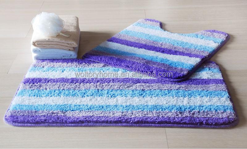 Hot sale bathroom set Shower Curtain and matching PP Bath Accessories bath  mat set. Hot sale bathroom set Shower Curtain and matching PP Bath