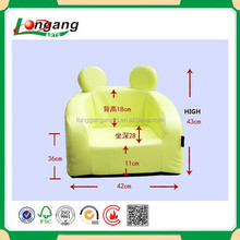 Lovely leather child sofa mini sofa kid sofa