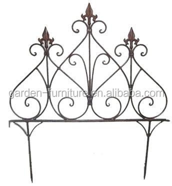 Garden Outdoor Supplies Decorative Iron Fence,Metal Fence,Small ...