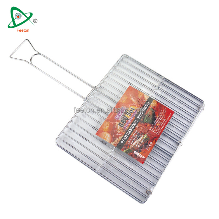 High quality wire mesh outdoor BBQ grill