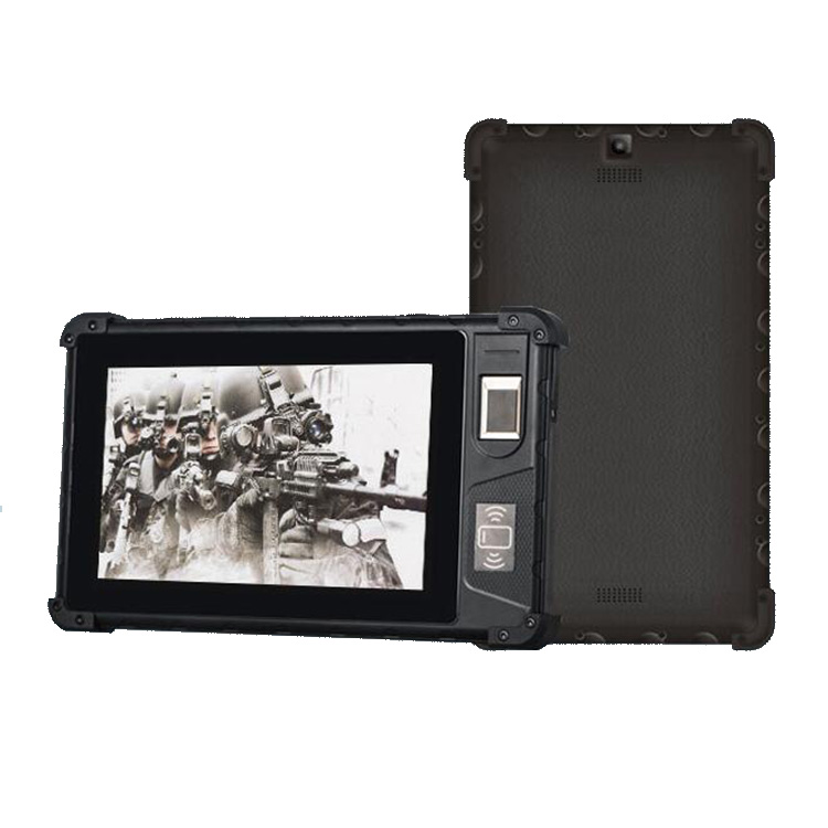 industrial computer 8 inch NFC RFID reader biometric fingerprint rugged <strong>tablet</strong>
