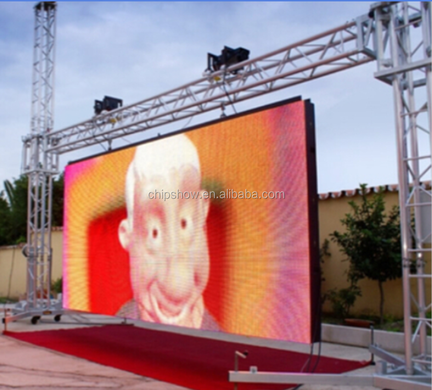 direct factory football match pixel net outdoor display processor for rental screen 6KG widely used in Asia