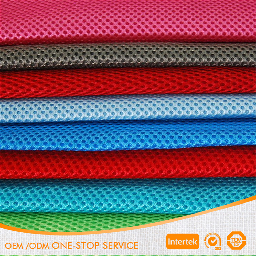 3mm 3D air mesh fabric Sandwich mesh fabric 3d spacer mesh fabric