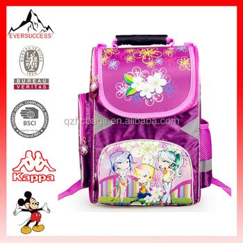 Russia Girls School Bags For Kids Class1 3 School Kids Backpack Hc