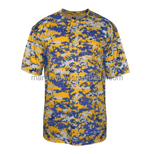 Digital Camouflage Print T Shirt Wholesale Made In China